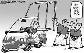 Pope bus