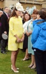 Queen and Kate at Royal Garden Party