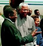 Mandela and Mugabe