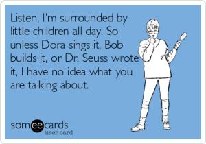 Dora,Bob,Dr. Suess