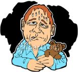 Sweating_Man_With_a_Fever_Clip_Art_clipart_image