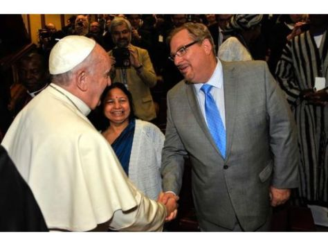 Rick Warren and Pope