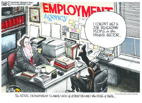 Job cartoon