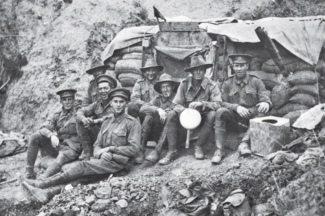 Australian soldiers at Galipoli