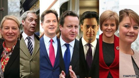 British election candidates