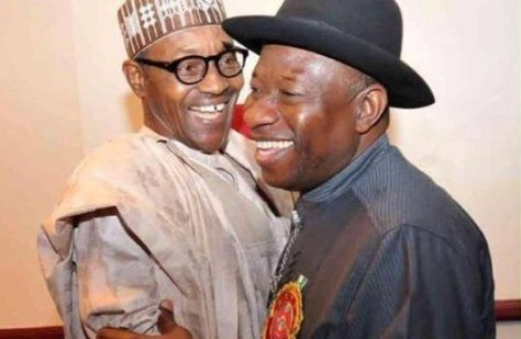 Goodluck and Buhari