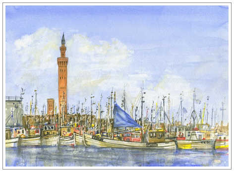 Grimsby Dock Tower, Lincolnshire