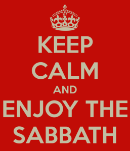 Keep calm sabbath