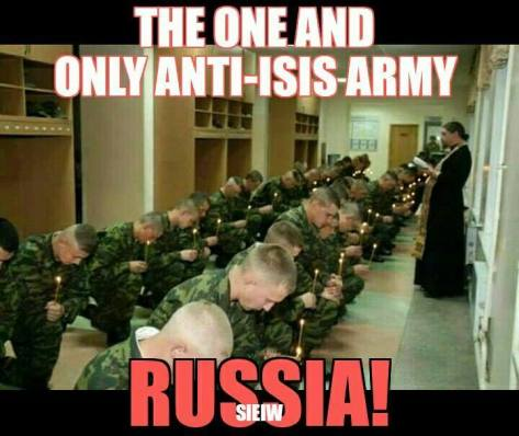 Russis anti-ISIS army