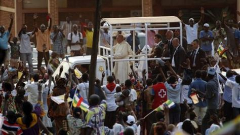 Pope in CAR