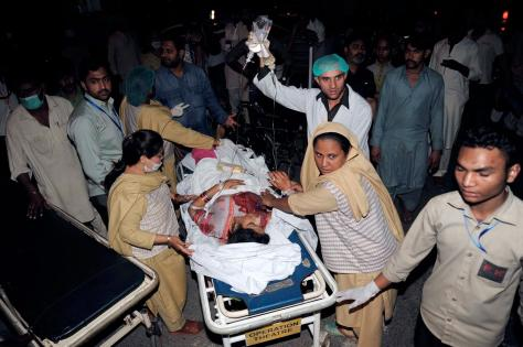 Easter Sunday Bombing in Lahore, Pakistan