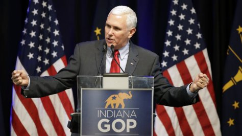 Mike Pence, Indiana Governor, endorses Cruz
