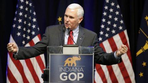Mike Pence, Indiana Governor, endorses Cruz