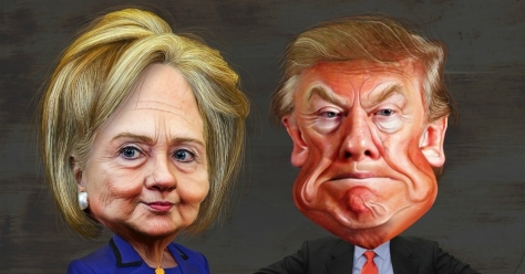 Hillary and donald