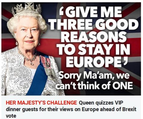 Queen's question Brexit